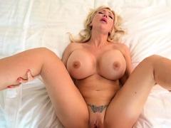 Big Tits Blonde Cougar Victoria Lobov POV Big Dick Sex