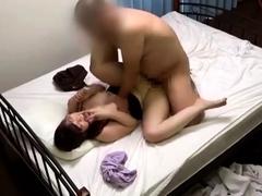 Hot amateur asian couple goes hardcore