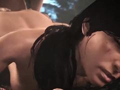 Video Games Babes Sucks a Huge Fat Cock - 3D Compilation