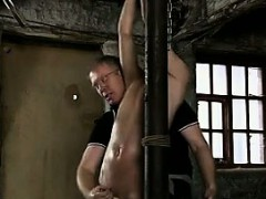 Young Guy Tied Up And Jerked