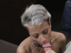 Sexy pornstar got fucked by the Pawnman for fat wad of money