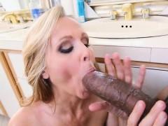 Julia Ann fucked by a fucking humongus black cock!