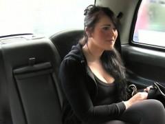 Amateur sucks cock pov in taxi